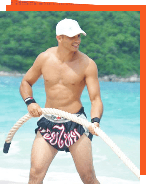 Krix Luther Phuket Personal Trainer