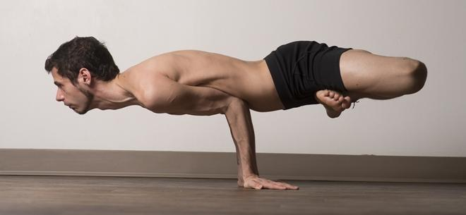 Benefits Of Yoga For Men - Picture is of Adrian Hummell - Taken by Eric Niiler